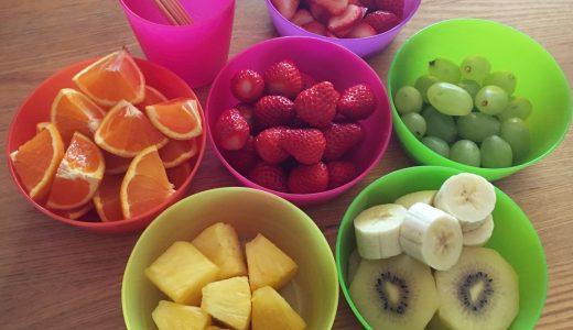 ゴールデンウィーク4日目は「フルーツだんご」