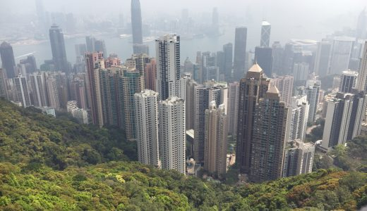 4泊5日の香港旅行⑤ 4日目 ヴィクトリア・ピーク