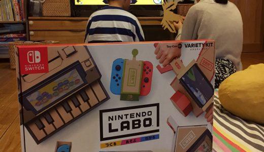 工作が苦手な小3男子もひとりでできた!Nintendo Laboバラエティキット